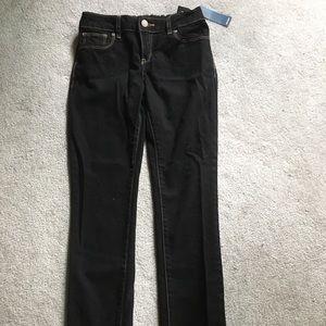 NWT Old Navy Girls Skinny Jeans Dark Rinse Size 10